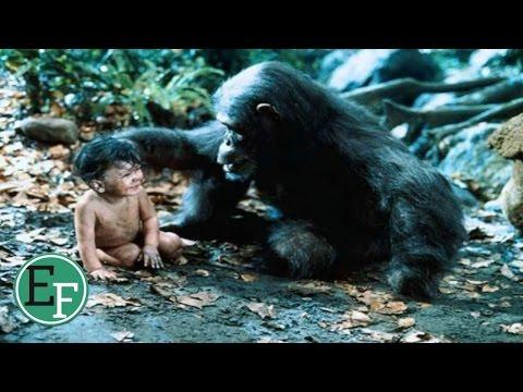 اطفال حقيقيون قامت بعض الحيوانات بتربيتهم
