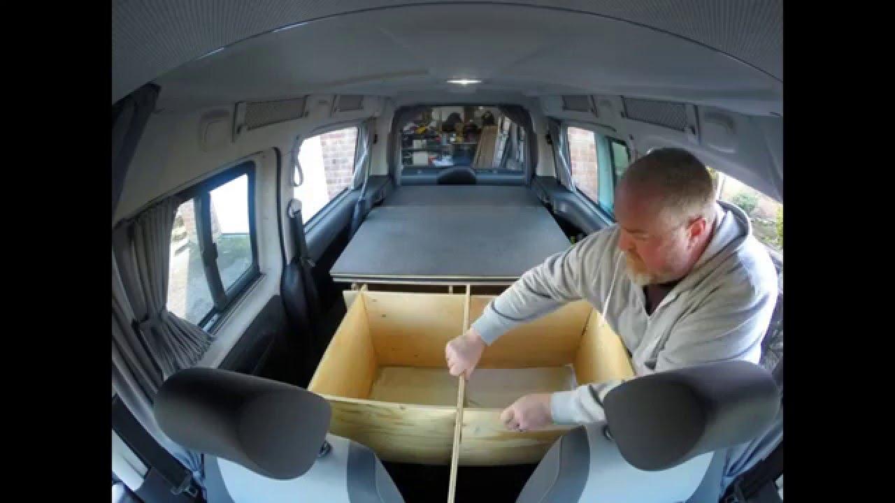 vw caddy maxi versatile camper youtube. Black Bedroom Furniture Sets. Home Design Ideas