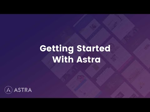 Astra Theme Quick Start Guide