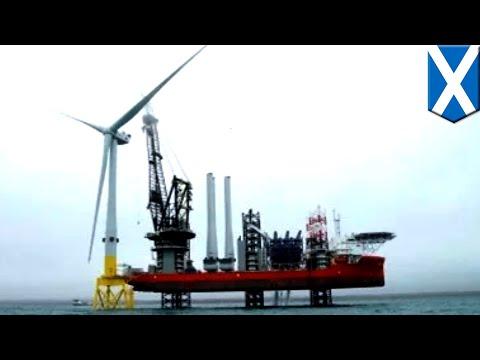 Largest wind turbines: Scotland gets huge 8.8MW wind turbine - TomoNews
