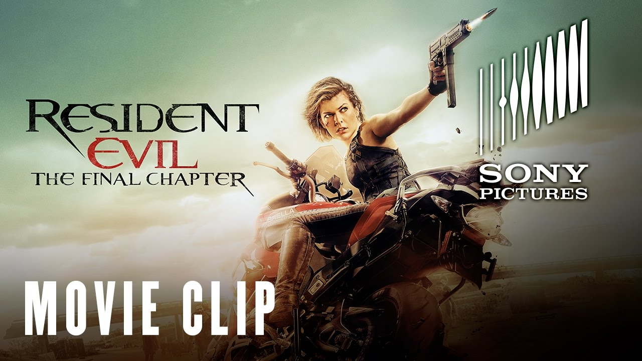 Resident Evil The Final Chapter Someone Is Watching Now
