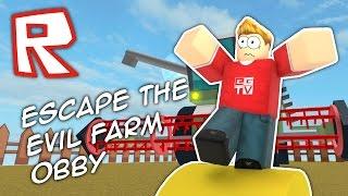 ESCAPE THE EVIL FARM!! Roblox Obby