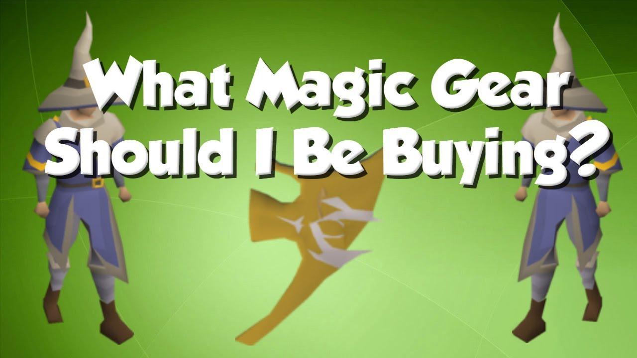 What Gear Should I Buy Next? | Magic [OSRS]