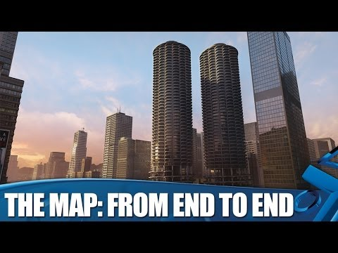 New Watch_Dogs Gameplay - The Map From End to End