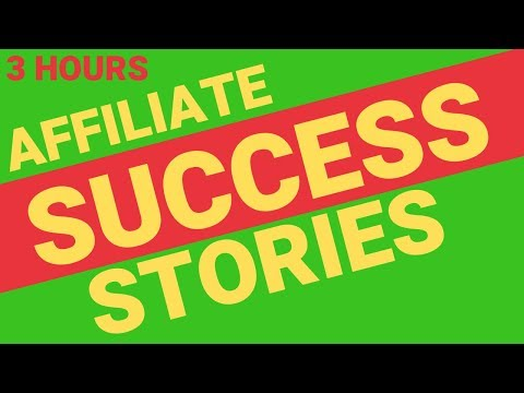 FIVE AMAZON AFFILIATE Success Story Interviews • 3 HOUR MASHUP