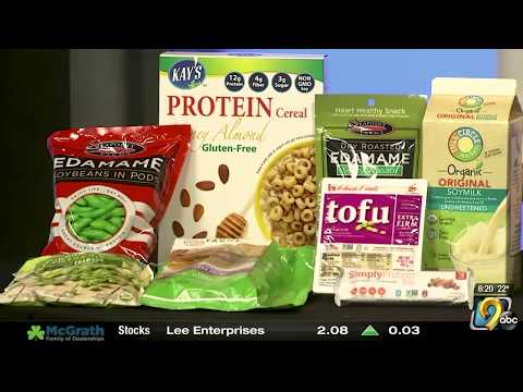 National Soy foods Month!