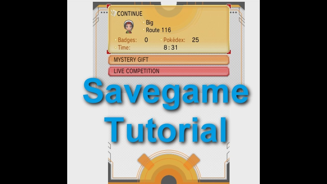 how to delete save files for pokemon alpha sapphire