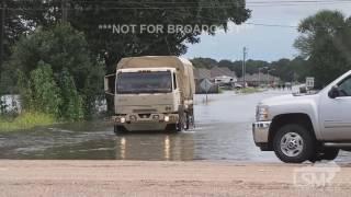 8-14-16 Lafayette, LA Extreme Flooding!