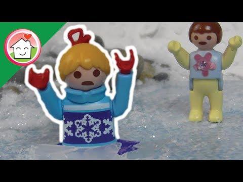 التزحلق على الجليد  - عائلة عمر - أفلام بلاي