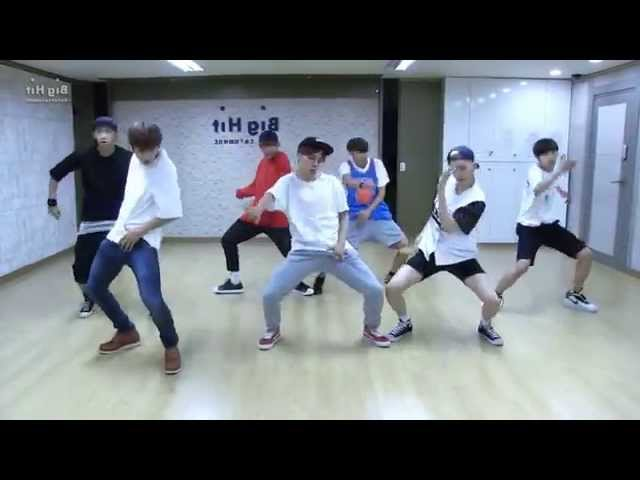 BTS 'Dope' mirrored Dance Practice