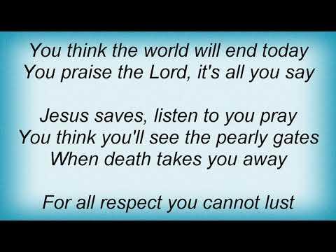 Slayer - Jesus Saves Lyrics