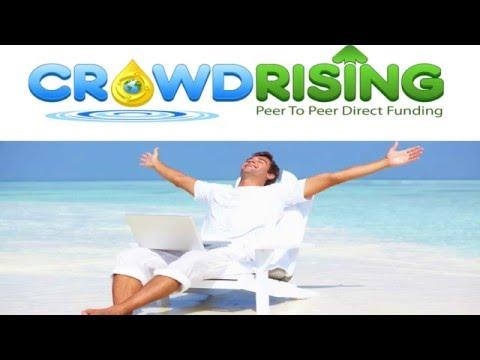 Crowdrising - peer to peer direct funding - Deutsches offizielles Tutorial - Dein Start mit 20 $