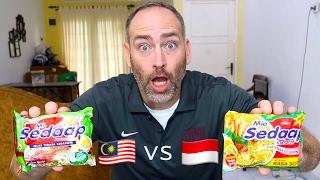 MALAYSIA vs INDONESIA  Mie Sedaap Rasa Soto Dibandingkan