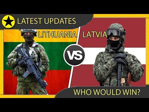 LITHUANIA vs LATVIA Military Power Comparison 2019