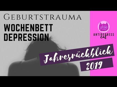 Geburtstrauma & Wochenbettdepression | ANTIDEPRESScat | Mamaleben mit Depressionen