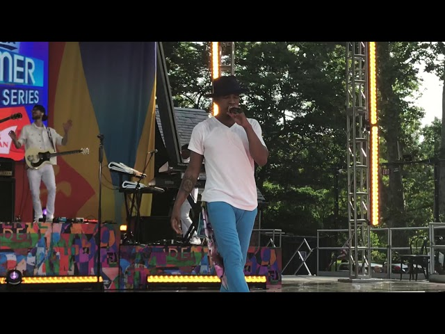 Ne-Yo - One in a Million - Live in Central Park on Good Morning America 6-8-18 GMA 2018