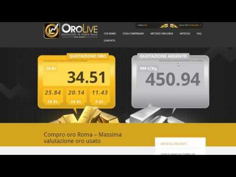 Quotazione Oro Usato Oggi - Dove Vedere La Quotazione Dell'oro In Tempo Reale?