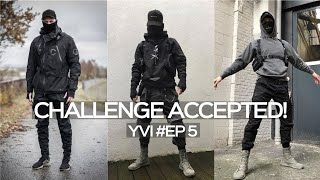 £100 Techwear Outfit Challenge   Mens Streetwear Fashion   Your Video Ideas EP#5