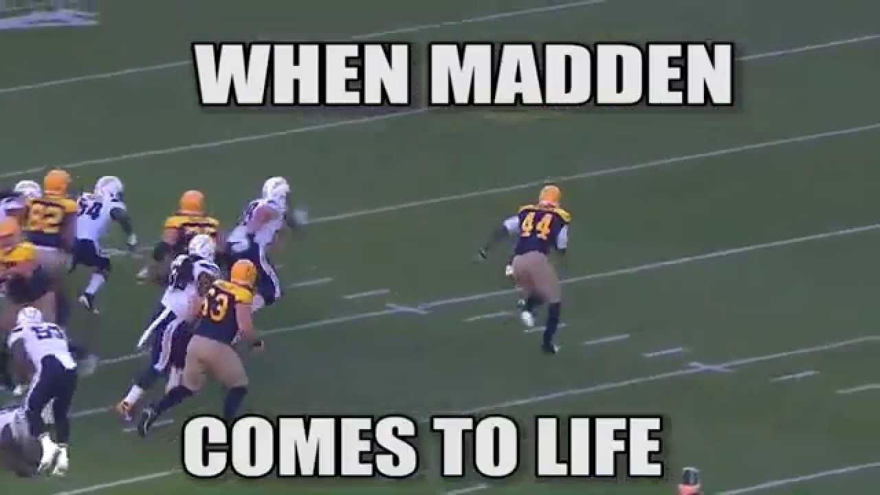 When Madden Comes To Life Meme Week 6 Nfl Youtube