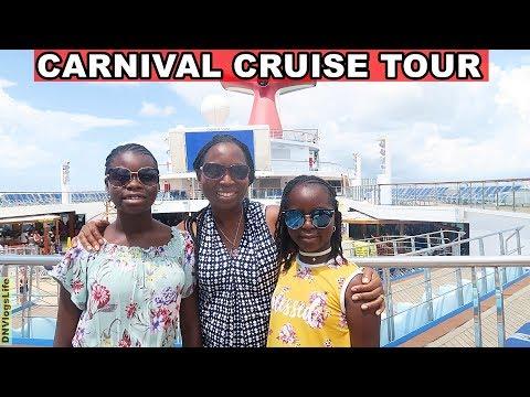Carnival Cruise Valor Vlog 2018 | Ship Tour | DNVlogsLife