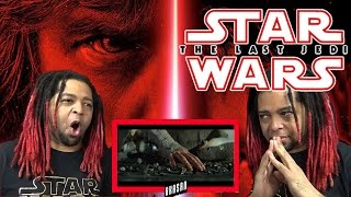 Star Wars: The Last Jedi Official Teaser | REACTION (LIVE PANEL POSTER AND TEASER REVEAL!!!)
