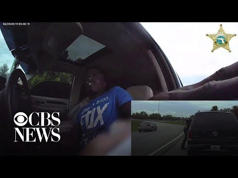 Eric Hunter - Florida Deputy Gets Dragged After Routine Stop