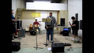 CCR cover - Fortunate Son Rehearsals