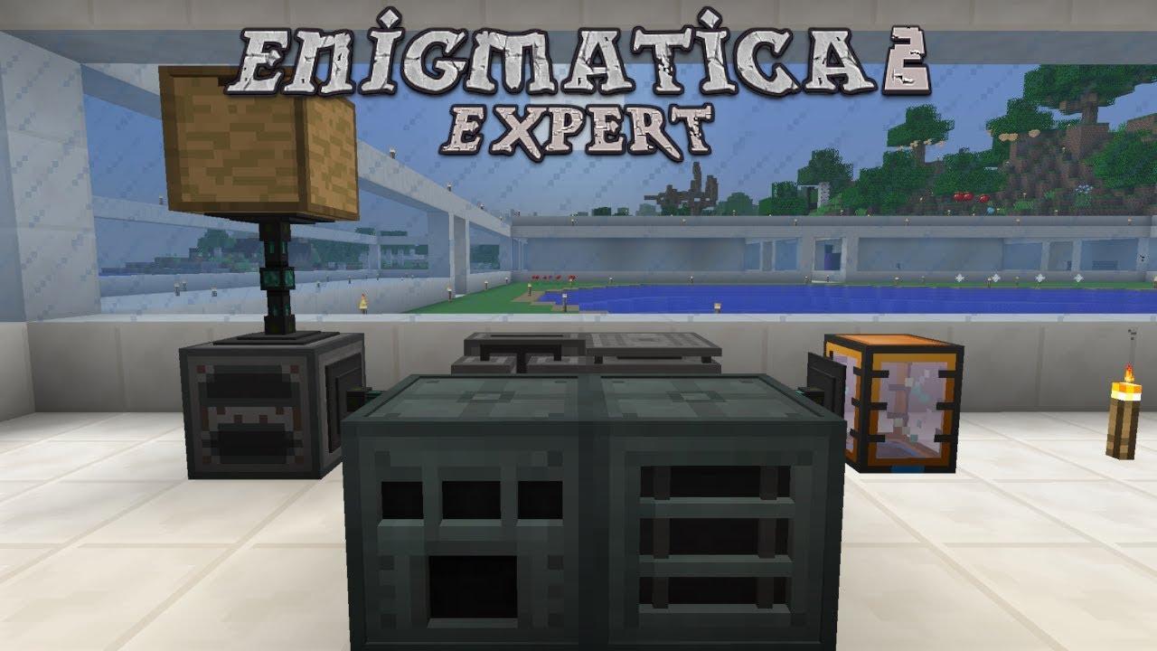 Enigmatica 2 Expert - SALT TO CHLORINE [E47] (Modded Minecraft)