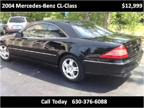 Download 2004 Mercedes-Benz CL-Class Used Cars Lombard IL