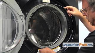 Washer Outer Door Gasket Clamp (part #2W20017E) - How To Replace