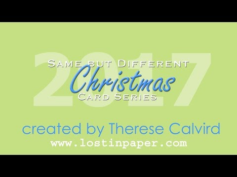 Same But Different Christmas Card Series 2017 No 2 –  Christmas Action!