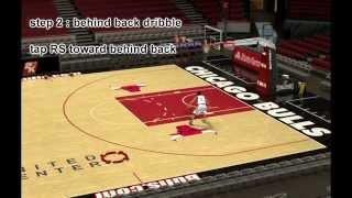 [EXBC] NBA2K14 tutorial DERRICK ROSE KILLER CROSSOVER