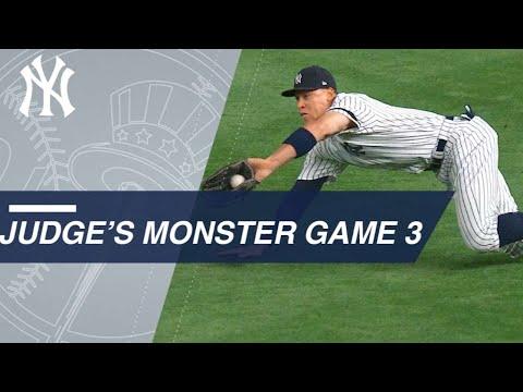 Aaron Judge's defense, homer in phenomenal Game 3