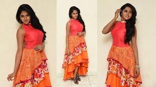 Charishma Shreekar At Neethone Hai Hai Telugu Movie Teaser Launch