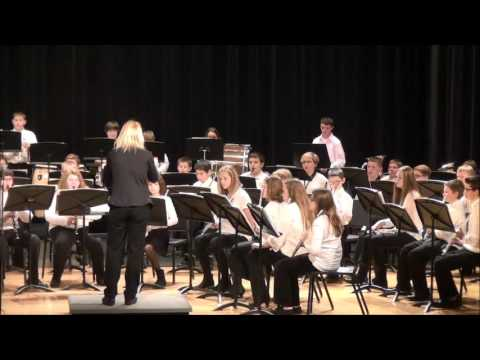 Superior Middle School 7th Grade Winter Band Concert 2015
