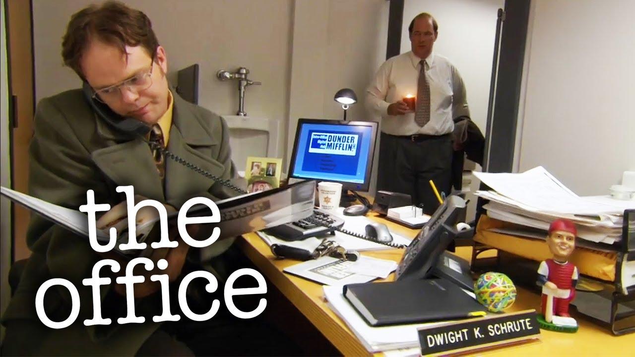 Dwight's Toilet Office