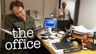 Dwight's Toilet Office - The Office US
