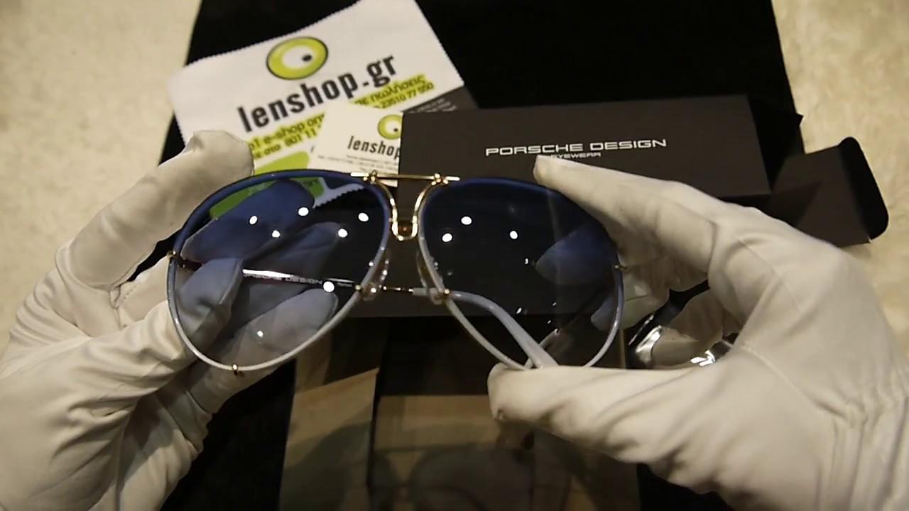 408a8296ac0 Unboxing sunglasses Porsche Design 8478 W - YouTube