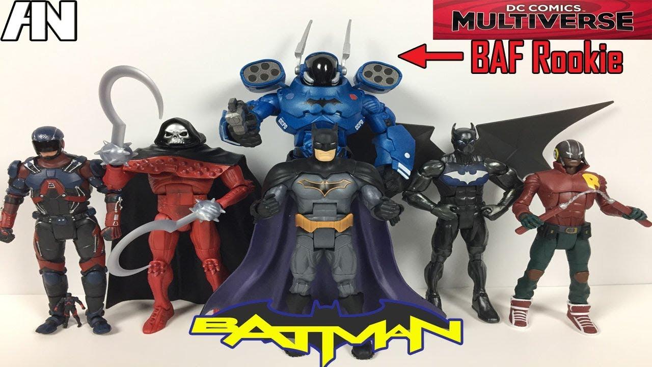 DUKE THOMAS dc comics multiverse WE ARE ROBIN baf rookie NEW rebirth