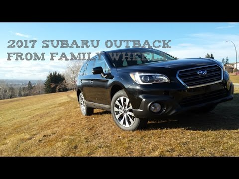 2017 Subaru Outback review from Family Wheels