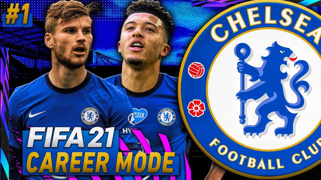 FIFA 21 Chelsea Career Mode Ep 1! - SANCHO, WERNER, HAVERTZ, and MORE!