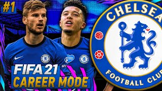 FIFA 21 Chelsea Career Mode Ep 1! - SANCHO, WERNER, HAVERTZ, and MORE!