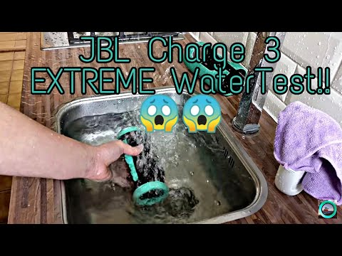JBL CHARGE 3 Watertest Disassembled #6