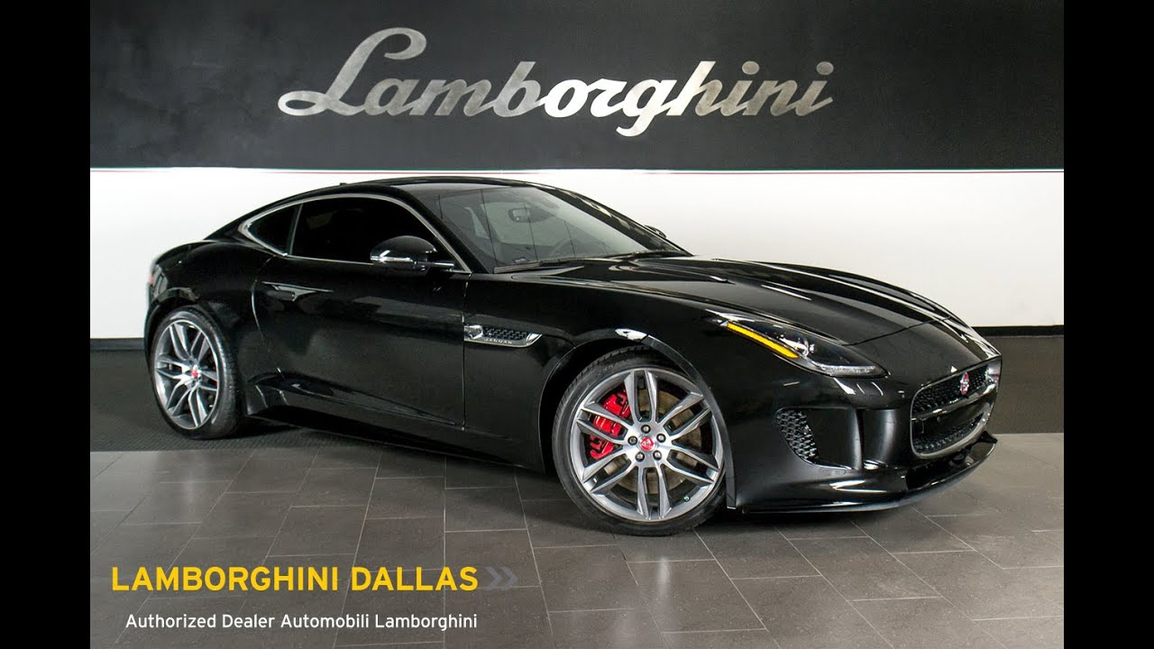 2015 Jaguar F Type R Ultimate Black LC339   YouTube
