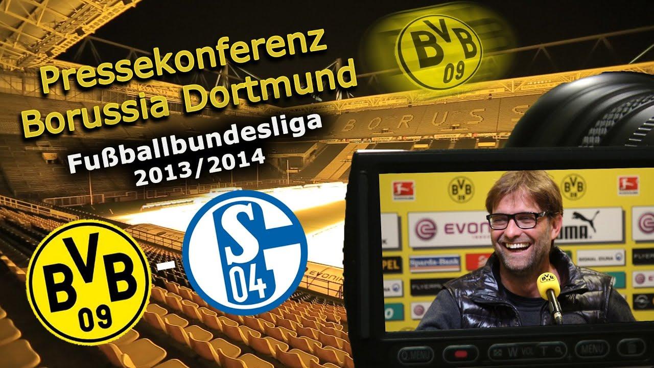 BVB Pressekonferenz vom 25. März 2014 nach dem Revierderby Borussia Dortmund gegen Schalke 04