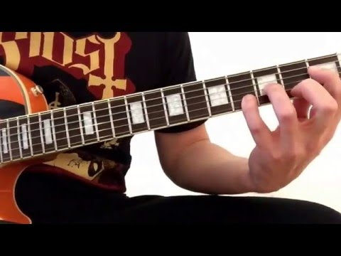 Ghost: Stand by Him - Guitar Lesson.