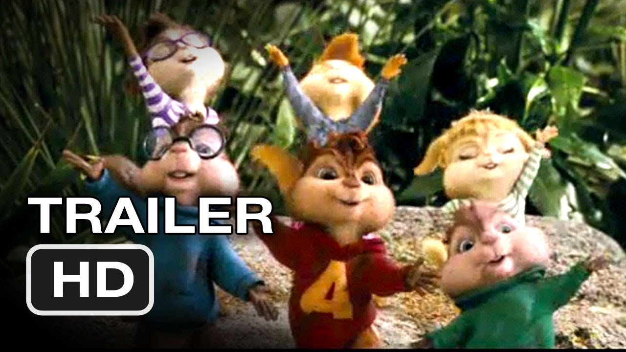 and chipwrecked Alvin chipmunks