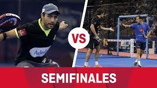 Resumen semifinal (Bela/Lima Vs Juan Martín/Lebrón) Estrella Damm Master Final 2018