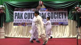 Pakistan Day 2011- Dance Performance on Tere  Bina by Children