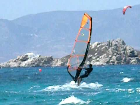 Wolf Mikri Vigla Naxos windsurf Travel Video